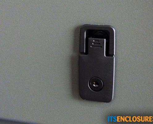 ID28-04 IceStation Rack Enclosure ITSENCLOSURES lockable door