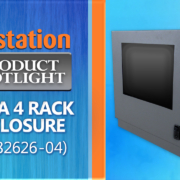 IR28-04 Desktop Rack Enclosure IceStation ITSENCLOSURES