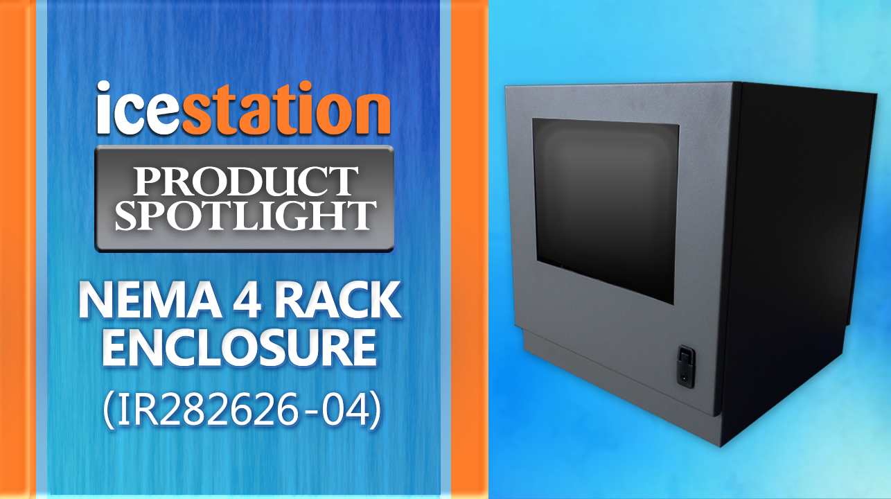 IR28-04 Desktop Rack Enclosure IceStation ITSENCLOSURES