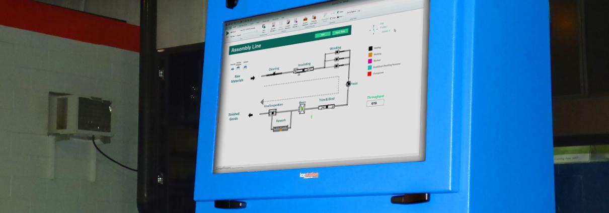 NEMA 4 TITAN Computer Enclosure IceStation ITSENCLOSURES