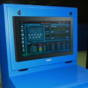 NEMA 4 IceStation TITAN Computer Enclosure panel mount door