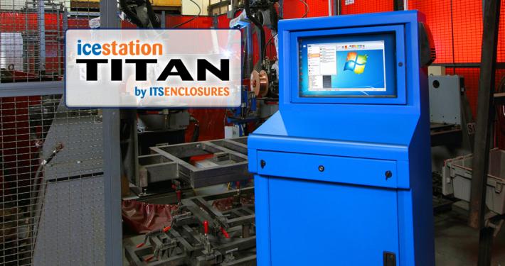 icestation titan itsenclosures computer enclosure keyboard drawer monitor printer enclosure