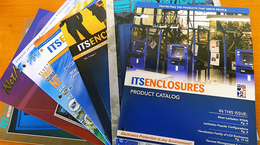 ITSENCLOSURES 30 YEARS OF CATALOGS Icestation netstation viewstation